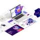 طراحی وبسایت طرح نقره ای